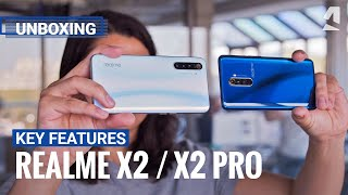 Realme X2 and X2 Pro unboxing and key features