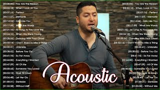 Best Ballad Acoustic Love Songs 2021 - Beautiful English Acoustic Cover of Popular Songs