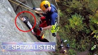Großeinsatz Höhenrettung: Jugendliche klemmt in Felsspalte | Die Spezialisten | SAT.1 TV