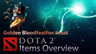 Обзор вещи дота 2: Golden Bloodfeather Feast (Queen of Pain)