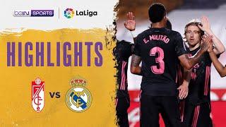 Granada 1-4 Real Madrid   LaLiga 20/21 Match Highlights