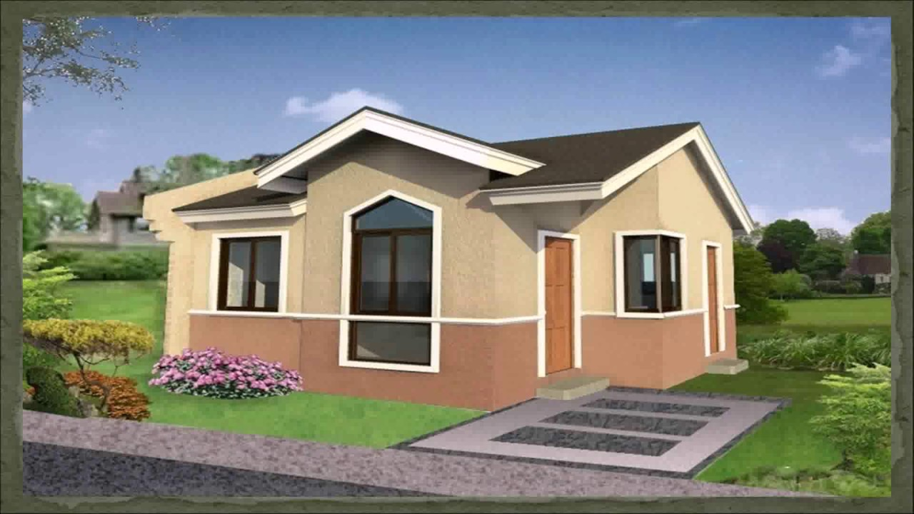 One Storey House Design With Floor Plan Philippines