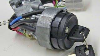 видео Замок зажигания ВАЗ 2114: замена своими руками, схема подключения проводов и неисправности
