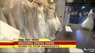 Knock Off Wedding Gown Sites Get Sued