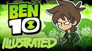 The ENTIRE Story of Ben 10 ILLUSTRATED [All 5 Parts]