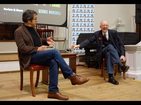 """George Marshall """"Don't Even Think About It"""" with George Monbiot"""