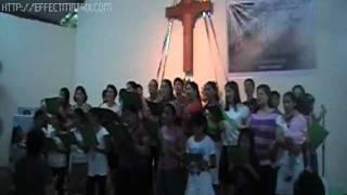 Gen. Trias Unida Choir - Because He Lives