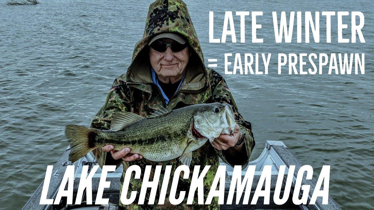 Lake Chickamauga Late Winter Early Prespawn Youtube
