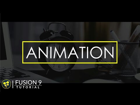 Smooth Text Animation in Fusion   BlackMagic Fusion Tutorial