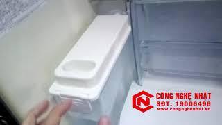 Tủ lạnh 6 cánh Toshiba GR-W42FS màu xám 422L nội địa Nhật