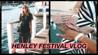 HENLEY FESTIVAL WITH BICESTER VILLAGE | LAUREN CROWE | VLOG
