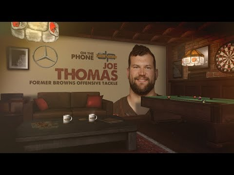 Joe Thomas Talks Browns QB Battle, Dez Bryant & More wDan Patrick  Full   81718