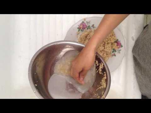 lavar quinoa