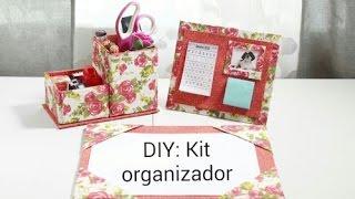Kit Organizador de Escritório by Show de Artesanato