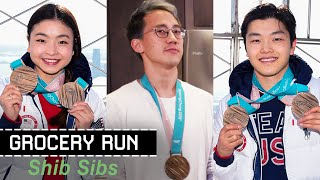 Shib Sibs Share Their Secret To Olympic Success  • Grocery Run