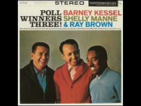 BARNEY KESSEL, SHELLY MANNE & RAY BROWN=POLL WINNERS THREE - Soft Winds