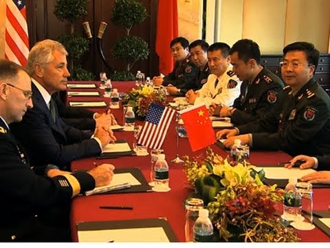Hagel Spars With China Over Territorial Issues