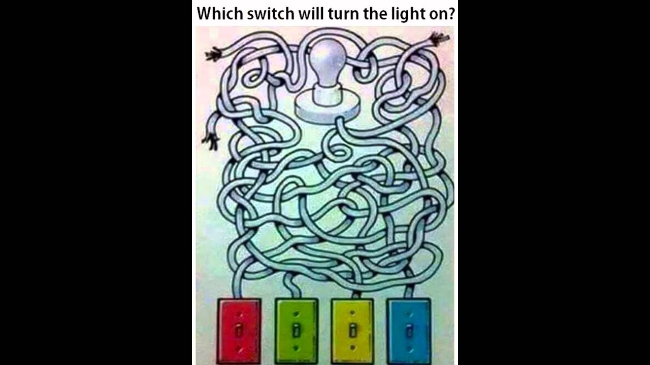 Which Switch Will Turn The Light on ? - YouTube
