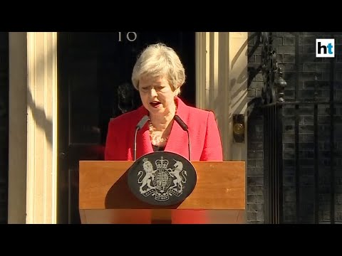 Brexit: UK PM Theresa May breaks down announcing her decision to quit
