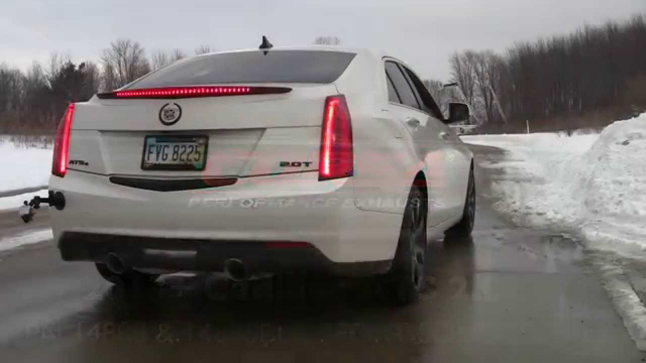 Corsa 2013 cadillac ats 20l turbo exhaust youtube corsa 2013 cadillac ats 20l turbo exhaust publicscrutiny Choice Image