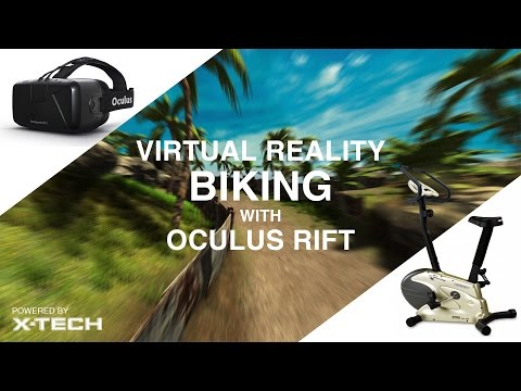 Virtual Reality Biking with OCULUS RIFT by X-TECH Games