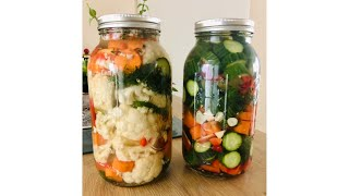 Quick Pickled Vegetables - Episode 464 - Baking with Eda