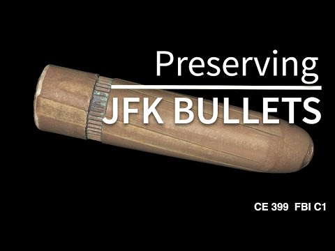 These are the bullets that killed JFK
