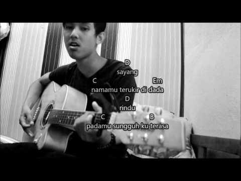 MELAMAR RINDU - TAJUL ARIF (Accoustic chord guitar cover by Ashral)