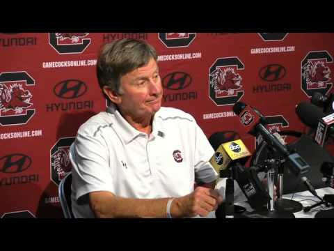 Steve Spurrier after loss to Georgia