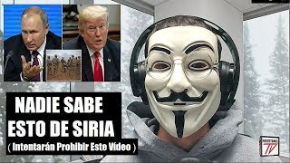 Los Motivos REALES por los Que Estados Unidos se Va de Siria...