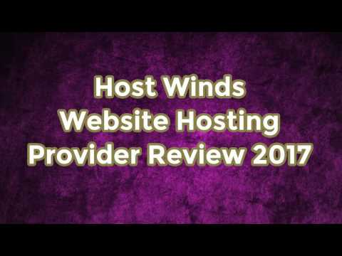 Hostwinds Website Hosting Provider Review 2017
