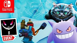 GENGAR or GRINSEKATZE Teaser for the UPDATE? | Fortnite Nintendo Switch