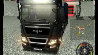 UK Truck Simulator Parking - A Fast Way to Park the truck!