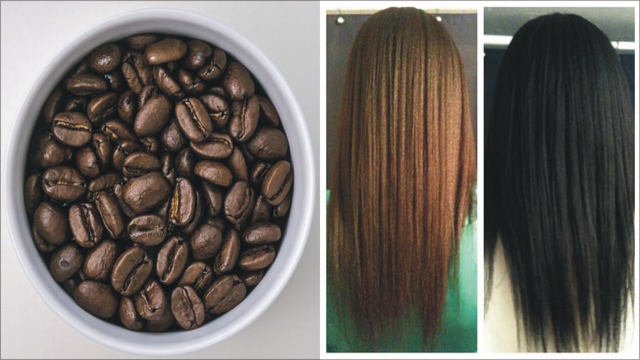 How To Dye Your Hair With Coffee Naturally Wow Hair Color Diy Youtube