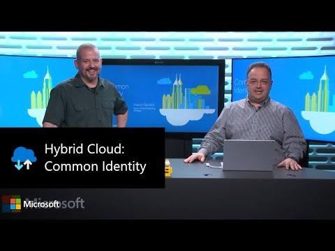 Hybrid Cloud: Common Identity