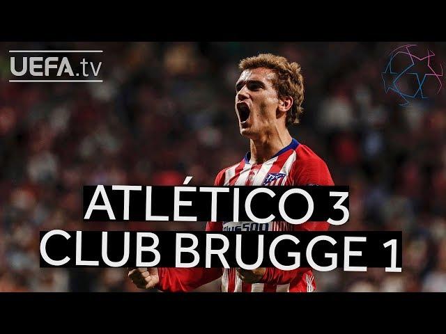 ATLÉTICO 3-1 CLUB BRUGGE #UCL HIGHLIGHTS