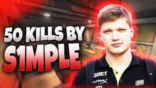 CS:GO - s1mple 50 frags on Train @ FPL