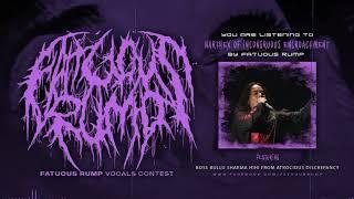 Fatuous Rump - Intro - Narthex of Incongruous Encroachment | Vocals Challenge | Bullu Sharma