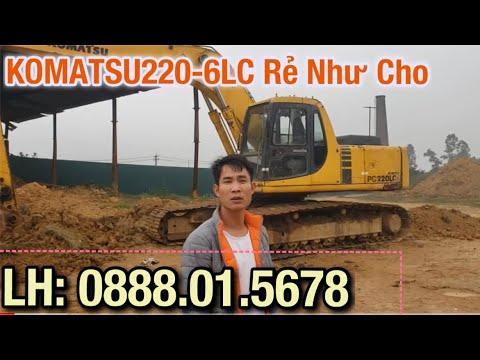 Bán Máy Xúc Komatsu PC220LC Giá Rẻ Như Cho