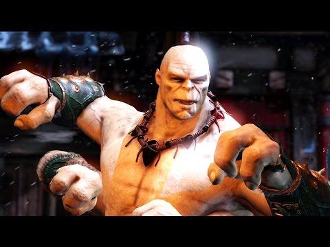 Mortal Kombat X - Goro All Interaction Dialogues