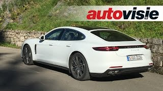 Review new Porsche Panamera 4S Diesel - by Autovisie TV