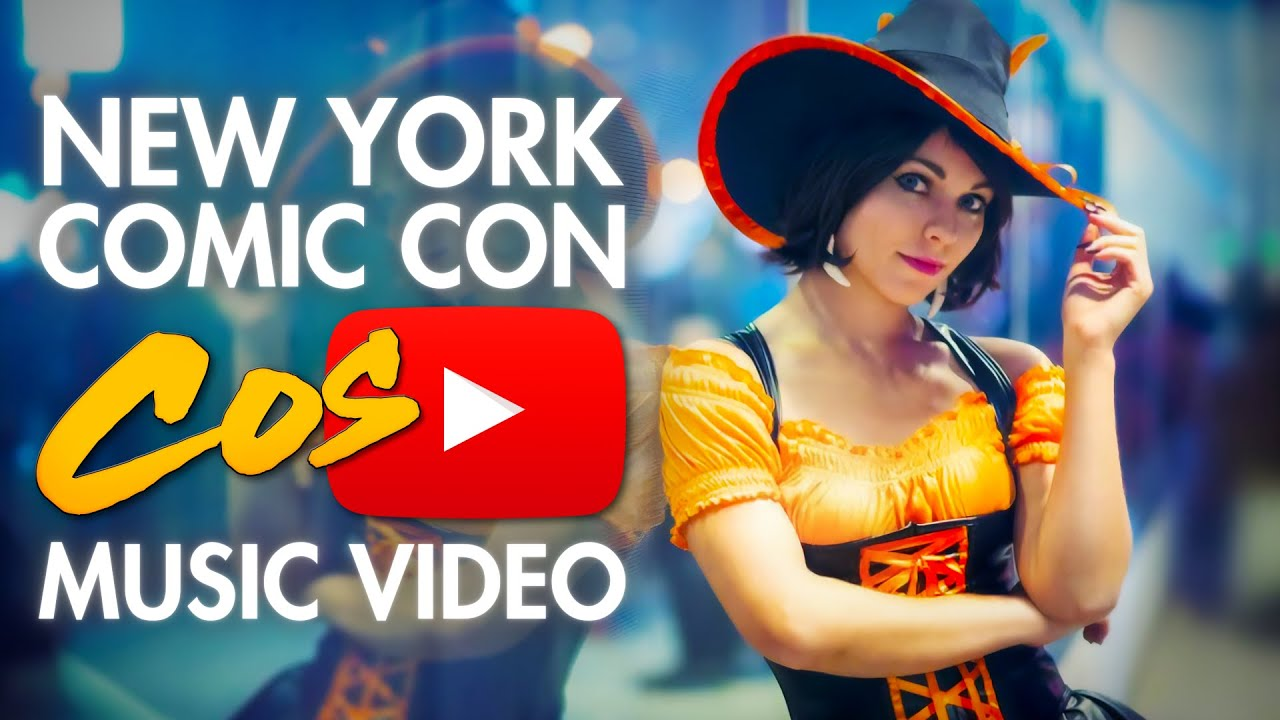 NYCC - Cosplay Music Video - New York Comic Con - UNSEEN!