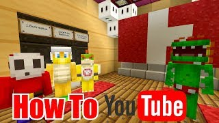 Youtube Class! [HOW TO DO YOUTUBE!] | Nintendo Highschool | Minecraft Switch [47]