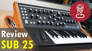 Moog SUBSEQUENT 25 Review, tutorial and patch ideas // SUB 25