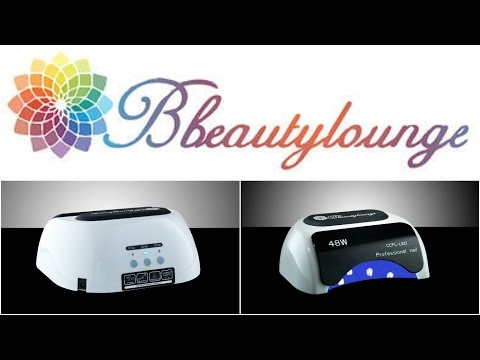 48W LED/UV LAMP Product Review For BbeautyLounge