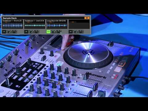 Numark 4TRAK: Sampling in Traktor Pro Tutorial featuring Michael Savant
