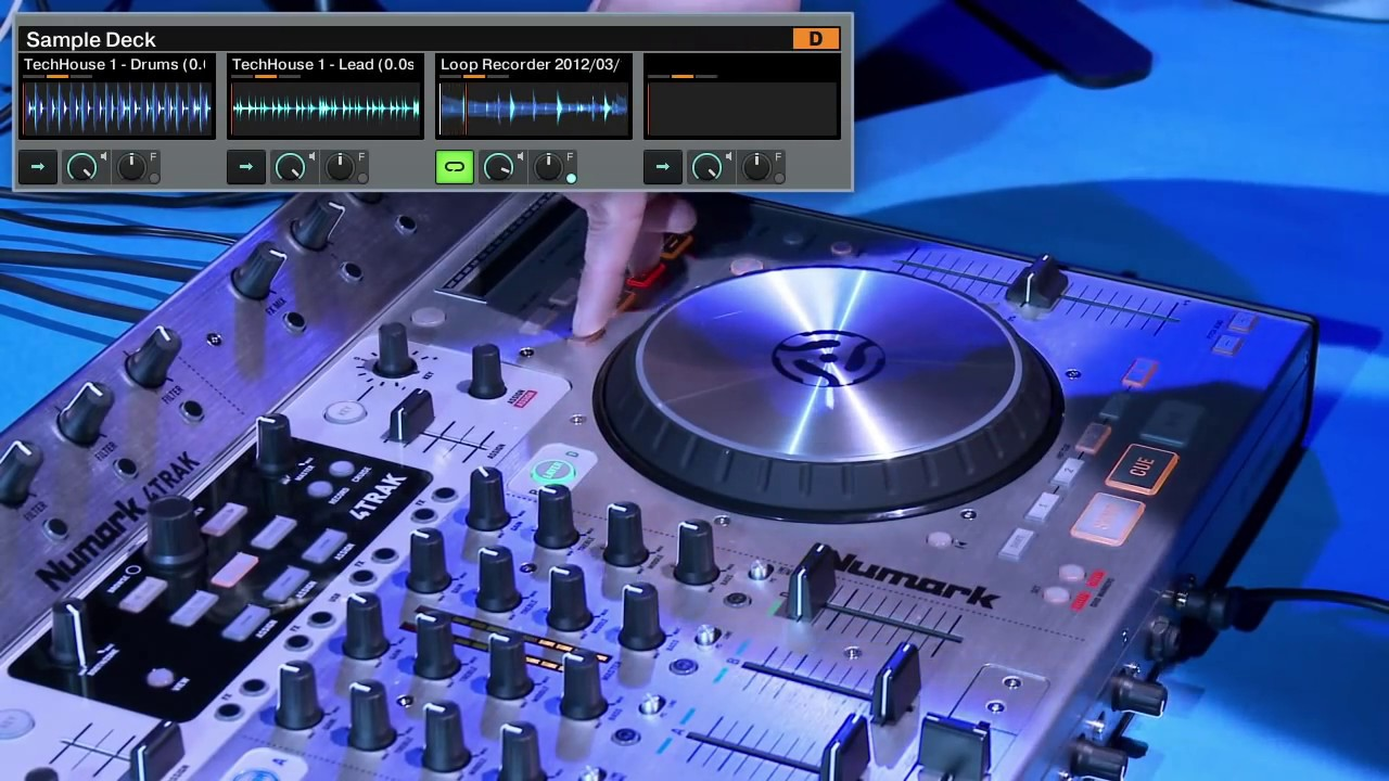 Numark 4TRAK 4-Channel Traktor DJ Controller