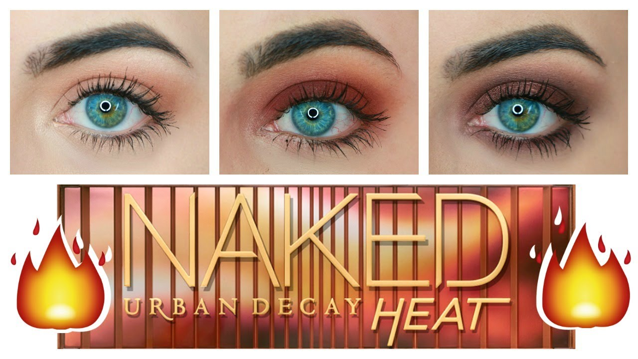 urban decay naked heat tutorial 3 looks 1 palette youtube. Black Bedroom Furniture Sets. Home Design Ideas