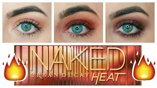Urban Decay Naked Heat Tutorial | 3 Looks 1 Palette