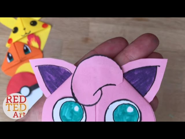 3D origami Jigglypuff by penguin4213 on DeviantArt | 480x640